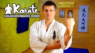 Техника кекусинкай каратэ 8 кю /Technique Kyokushinkai karate 8 Kyu