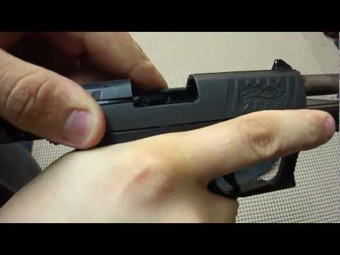 Walther P22 Reassembly Without Any Tools