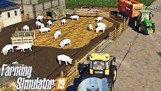 FARMING SIMULATOR 19 #43 - ARRIVANO I SUINI! w/Robymel81 - NF MARSCH ITA