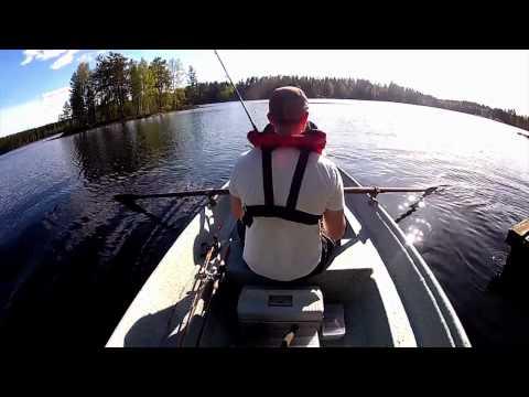GoPro HD Hero 2 + Fishing Gear - Test Session - Fishing in May @ Finland/Työtönjärvi