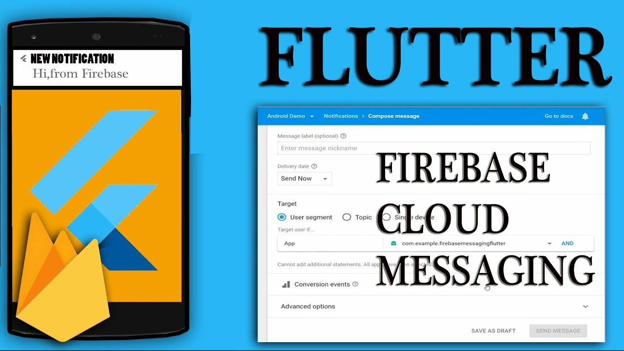 FLUTTER : FIREBASE PUSH NOTIFICATION TUTORIAL| Firebase notify on