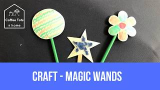 Coffee Tots at home - Craft - Magic Wands