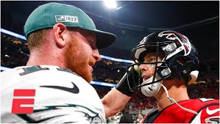 Could Carson Wentz or Matt Ryan be the Colts' next QB? | Keyshawn, JWill and Zubin