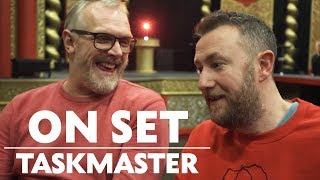 Greg Davies & Alex Horne Behind the Scenes of Taskmaster | On Set