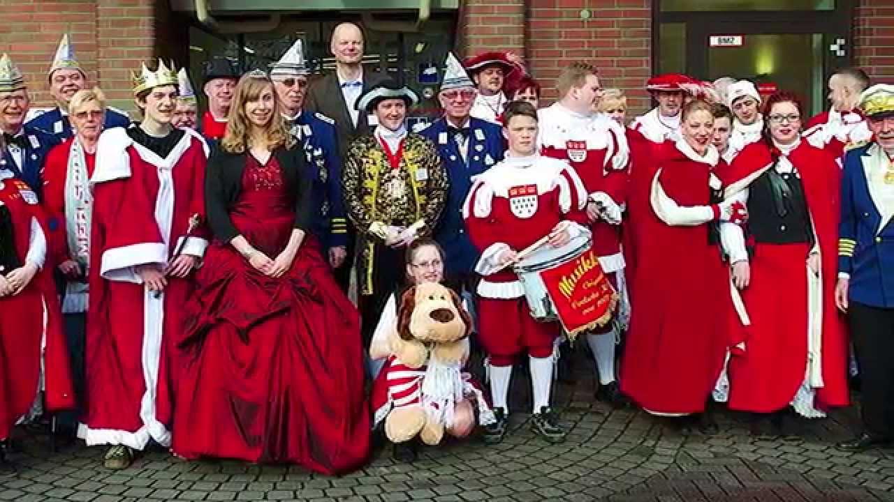 Kölner Karneval Im St Franziskus Hospital Tsv Rheinflotte