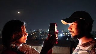 He Came Late By 45 mins After Moonrise | Karwa Chauth | ss vlogs :-)