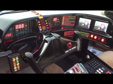 functioning knight rider interior youtube. Black Bedroom Furniture Sets. Home Design Ideas