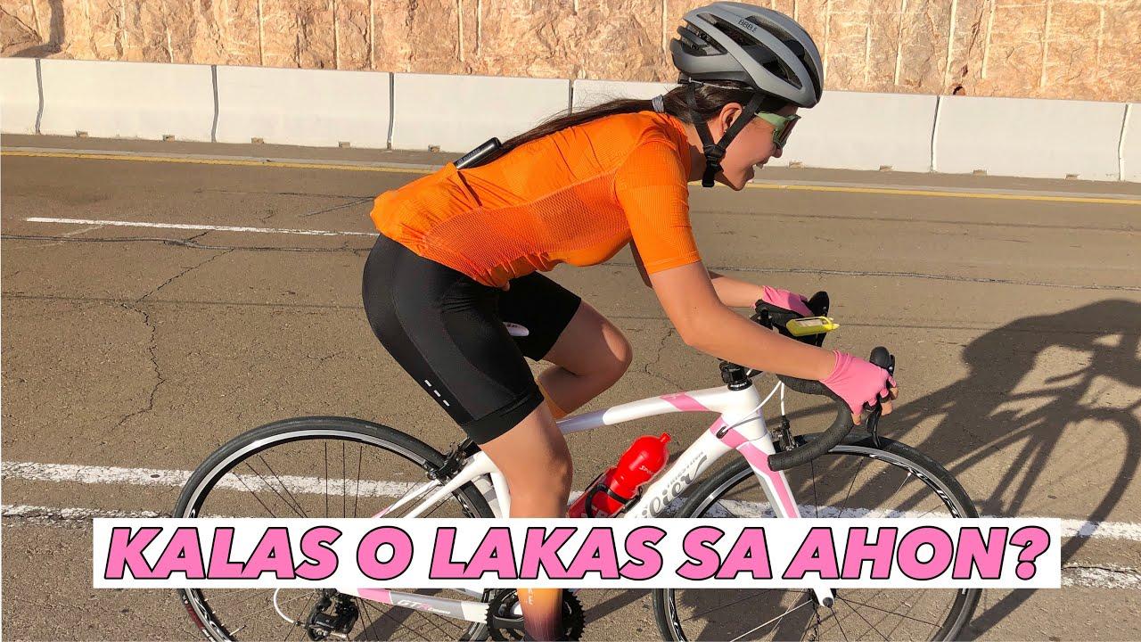 ALLOY VS CARBON WHEELSET IN UPHILL ROUTE | KALAS O LAKAS SA AHON? | by GAYE PARIS