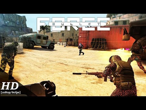 Bullet Force Android Gameplay [1080p/60fps]