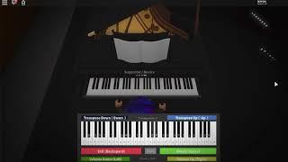 Billie Eilish - vous devriez me voir dans une couronne - Roblox Piano