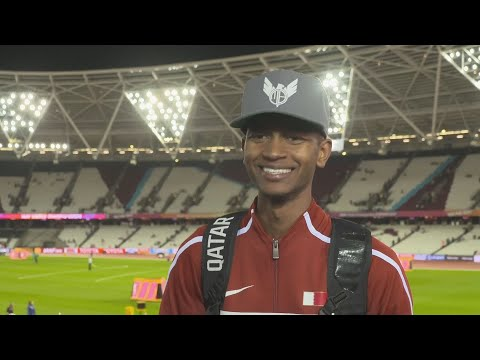WCH 2017 London– Mutaz Essa Barshim QAT High jump Gold