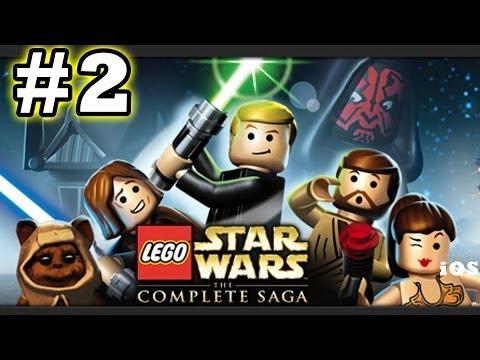 Lego Star Wars #2 Invasion of Naboo (The Complete Saga) Phantom Menace - (iOS Gameplay)