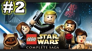 Lego Star Wars #2 Invasion of Naboo (The Complete Saga) Phantom Menace - (iOS Gameplay)