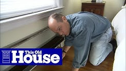How to Quiet Heating Pipes | This Old House