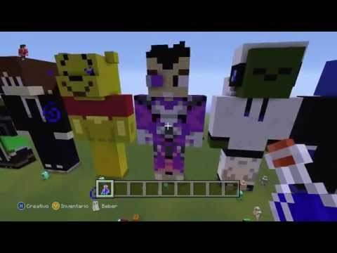 Pixel Art Skin De Vegetta Minecraft PE FunnyDogTV - Skin para minecraft pe vegetta777
