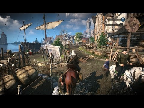 The Witcher 3: Wild Hunt - Official Gameplay (35 min)