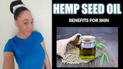 Hemp Seed Oil Benefits For Skin | EuniyceMari