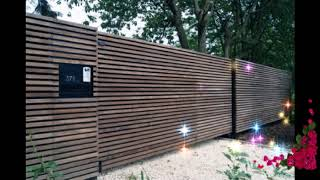 Top Wooden Fence Ideas For Beautiful Home,Best Wooden Fence Ideas,Exterior Backyard Design Ideas #2