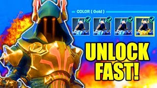 COMMENT DÉBLOQUER GOLD ICE KING RAPIDEMENT! FORTNITE ICE KING DÉFIE FORTNITE COMMENT DÉBLOQUER ICE KING!