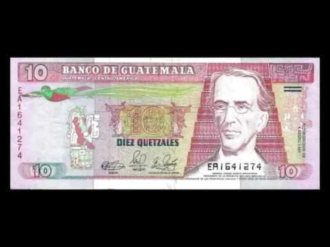 All Guatemalan Quetzal Banknotes - 1989 to 1992 Issues