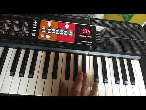 Dil Me Tujhe Bitha Ke On Piano