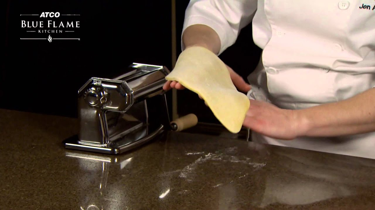 How to Roll Out Pasta Dough - YouTube