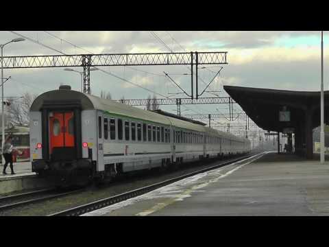EU07-216 Z Pociągiem IC