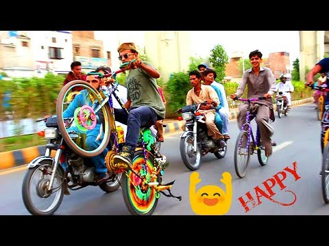 HAPPY LIFE IS AWESOME || ONE WHEELING OF CYCLE 2018 || new video || part 3
