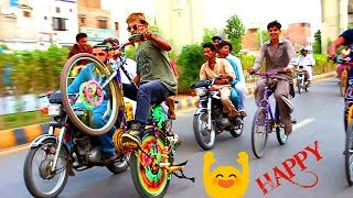 Download Video HAPPY LIFE IS AWESOME || ONE WHEELING OF CYCLE 2018 || new video || part 3 MP3 3GP MP4