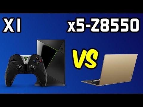 💥Tegra X1 vs x5-Z8550 Benchmarks 📱Shield Android TV vs Lenovo Yoga Book! 🔥 [4K]