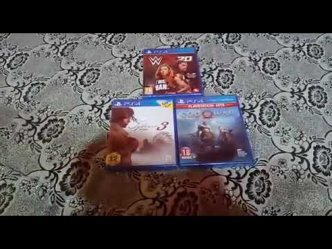 Syberia 3,W2K20,God of war unboxing |