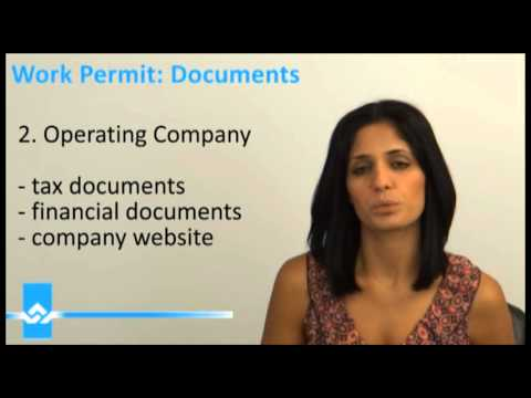 Canada Work Permit Documents