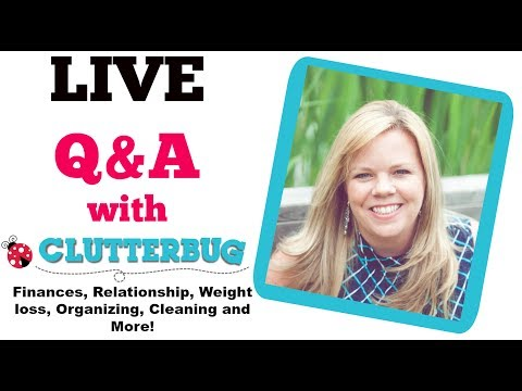 LIVE Q&A with Cas from ClutterBug