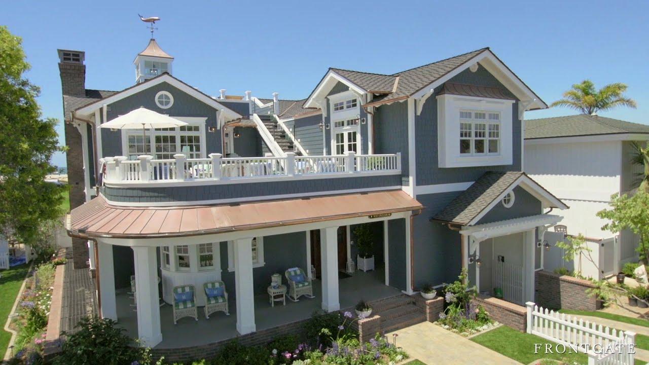 Coastal living show house 2014 video youtube for Coastal life home designs
