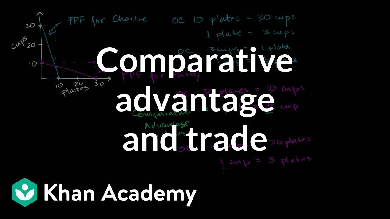 Comparative advantage specialization and gains from trade | Microeconomics | Khan Academy