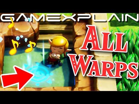 Zelda Link S Awakening How To Find All 10 Warp Points