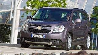 Chevrolet Orlando 2010 минивэн