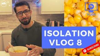 Isolation Vlog 8 │ Viewer Feedback, Tasty Sweetcorn & Press Up Challenge