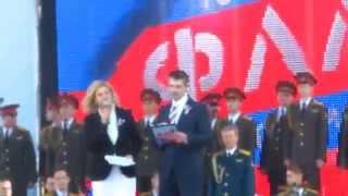 Значение красного цвета флага(Санкт Петербург, СПБ, Дворцовая площадь, День Государственного Флага, 150-летие северо-западного военного..., 2014-08-22T18:27:04.000Z)