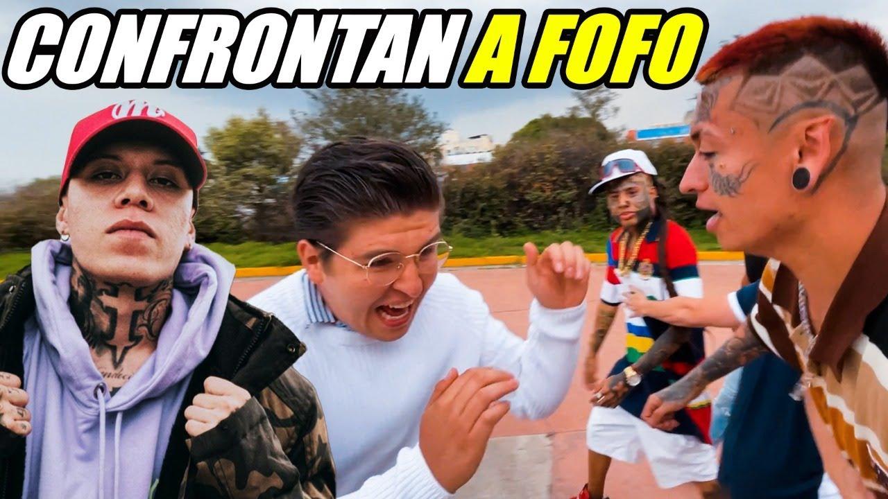 Download CHOLOS CONFRONTAN A FOFO POR LA POLEMICA DE SANTA FE KLAN 😱