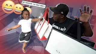 MY SON TAKES ME SHOPPING FOR A DAY | $1000 shopping spree . . .