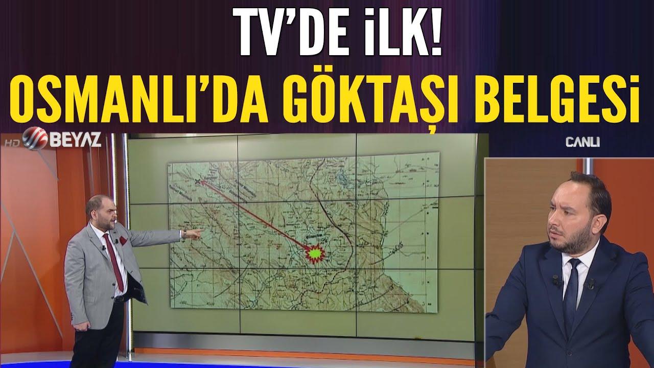 TV'de ilk! Osmanlı'da göktaşı belgesi! Ömer Faruk İspir açıkladı