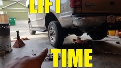 2002 Ford 4bt Expedition Lift Kit