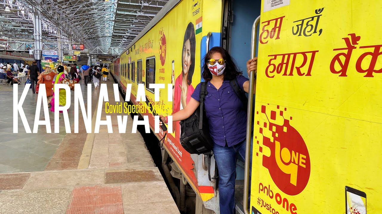 Second Seating Train Journey | Social Distancing?  KARNAVATI COVID SPECIAL Experience