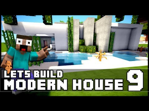 minecraft lets build small modern house 18x18 lot doovi