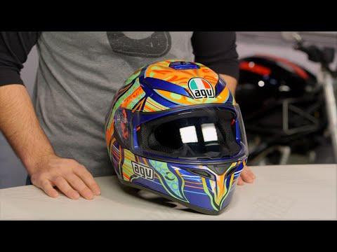 Agv K3 Sv Five Continents Helmet Review At Revzilla Com Youtube