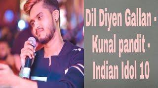 Kunal Pandit Aswam Performance Dil Diyen Gallan