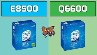 Core 2 Duo E8500 vs Core 2 Quad Q6600 #2