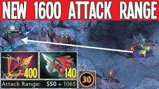 1600 Attack Range 7.23 Real Sniper Ballista Item 22 Kills   Dota 2 Silly Builds