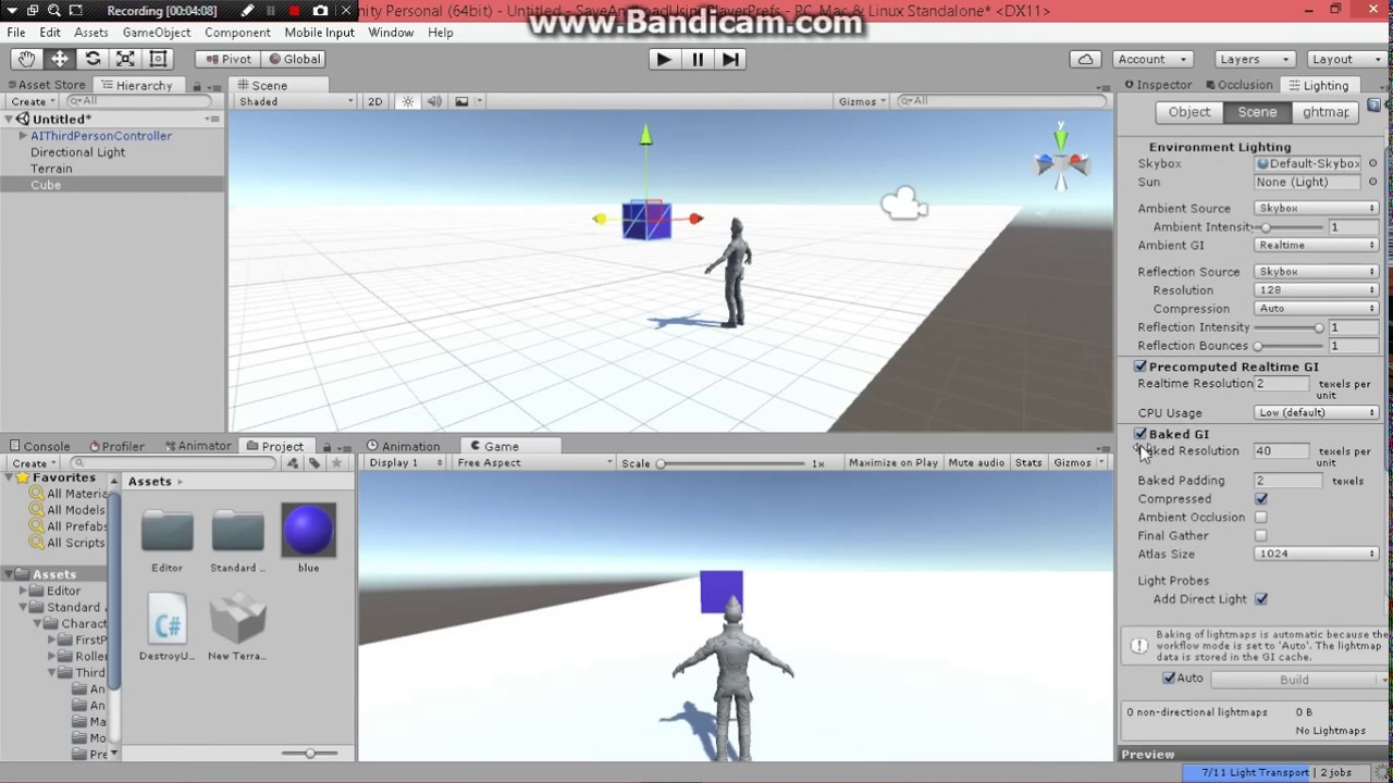 Destroy Object Upon Collision(C#) Unity